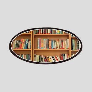 Bookshelf Books Library Bookworm Reading Patch
