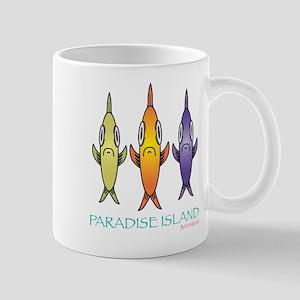 Paradise Island Three Fishes Mugs