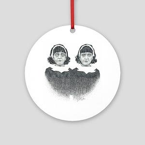Twins Ornament (Round)