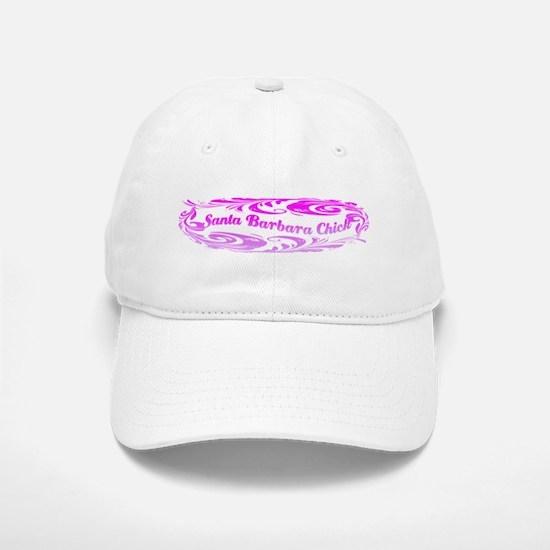 SANTA BARBARA CHICK Baseball Baseball Cap