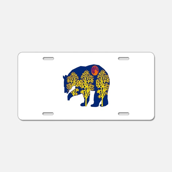 EVENING Aluminum License Plate