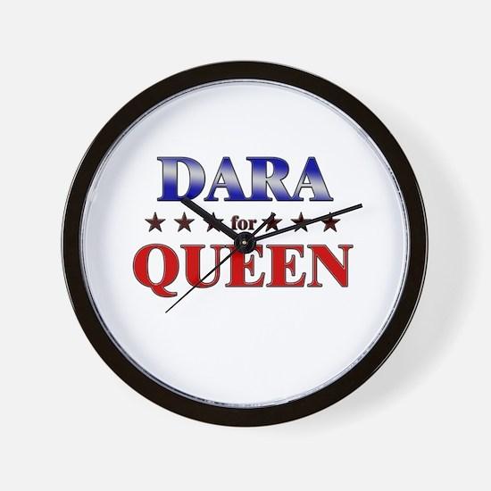 DARA for queen Wall Clock