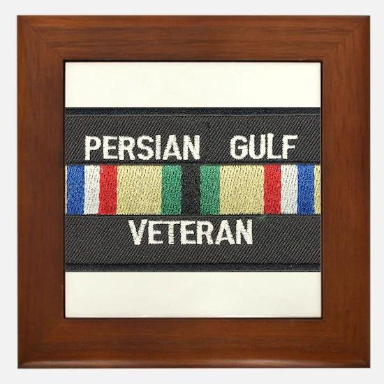 Persian Gulf Veteran Framed Tile