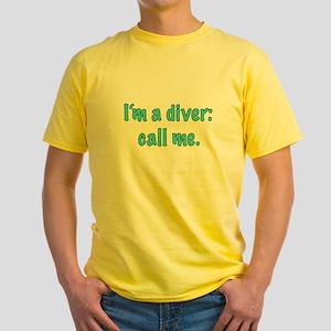 Diver Call Me T-Shirt