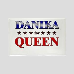 DANIKA for queen Rectangle Magnet