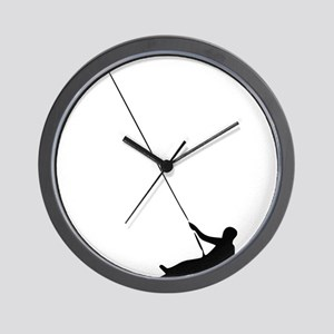 abseilen Wall Clock