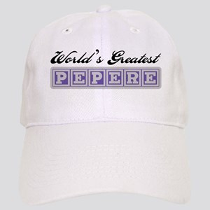 World's Greatest Pepere Cap