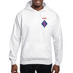 FIRST MARINE DIVISION - GUADALCA Hooded Sweatshirt