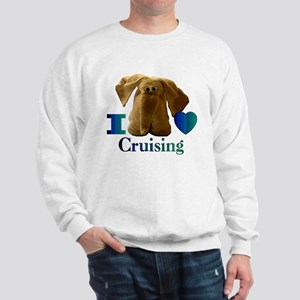 I Heart ( Love ) Cruising  Sweatshirt
