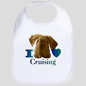 I Heart ( Love ) Cruising  Bib