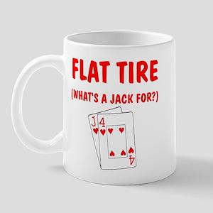 """Flat Tire"" Mug"