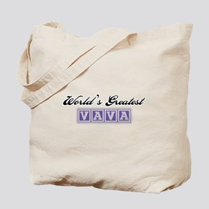 World's Greatest Vava Tote Bag