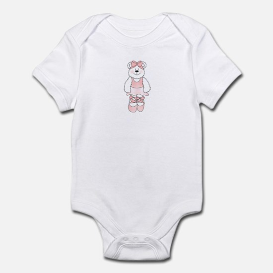 PINK BALLERINA BEAR Infant Bodysuit