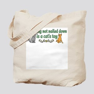 Two cats and funny quote Tote Bag