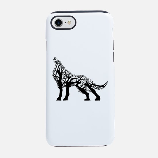 Howling Wolf iPhone 8/7 Tough Case