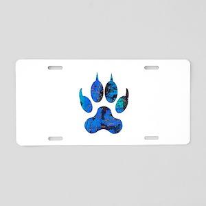 TRACK Aluminum License Plate