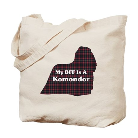BFF Komondor Tote Bag