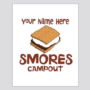 Smores Campout Posters