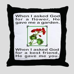 GOD GAVE ME YOU Throw Pillow