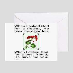 GOD GAVE ME YOU Greeting Card