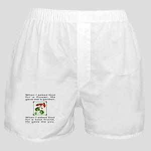 GOD GAVE ME YOU Boxer Shorts