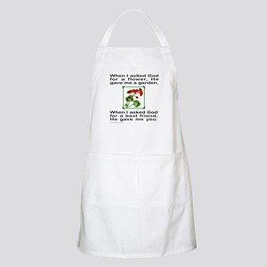 GOD GAVE ME YOU BBQ Apron