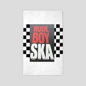 Rude Boy Ska Area Rug