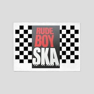 Rude Boy Ska 5'x7'Area Rug