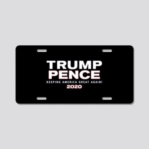 Trump Pence 2020 Aluminum License Plate