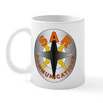 SAR COMM Round Logo Mug