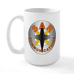 SAR COMM Round Logo Large Mug