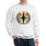 SAR COMM Round Logo Sweatshirt