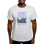 Greed Kills Light T-Shirt