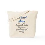 Chrome Guardian Angel Tote Bag