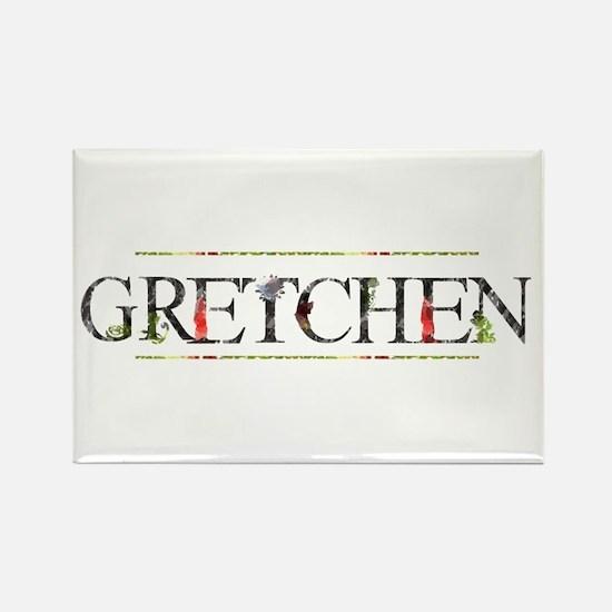 Gretchen Rectangle Magnet