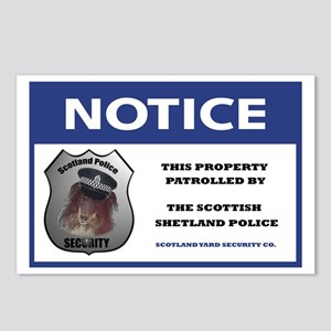 Scotland Security Postcards (Package of 8)