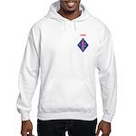 FIRST MARINE DIVISION - VIETNAM Hooded Sweatshirt