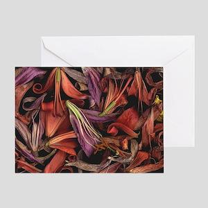 Bob Creamer Lilies Greeting Card
