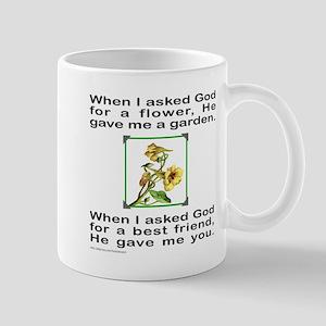 BFF GOD GAVE ME YOU Mug