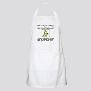 BFF GOD GAVE ME YOU BBQ Apron