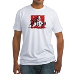 EuroTrash Fitted T-Shirt