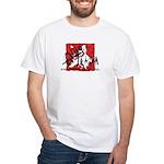 EuroTrash White T-Shirt
