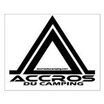 accros du camping bl Posters