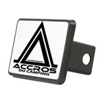 accros du camping bl Hitch Cover