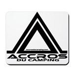 accros du camping bl Mousepad