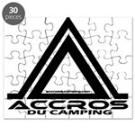 accros du camping bl Puzzle