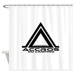 accros du camping bl Shower Curtain