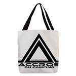 accros du camping bl Polyester Tote Bag