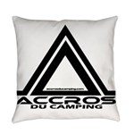 accros du camping bl Everyday Pillow