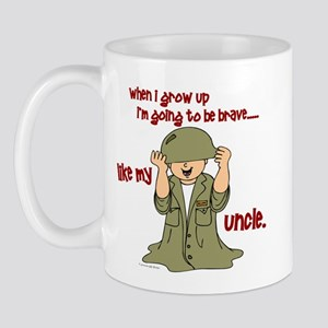 Brave Like My Uncle 1 Mug